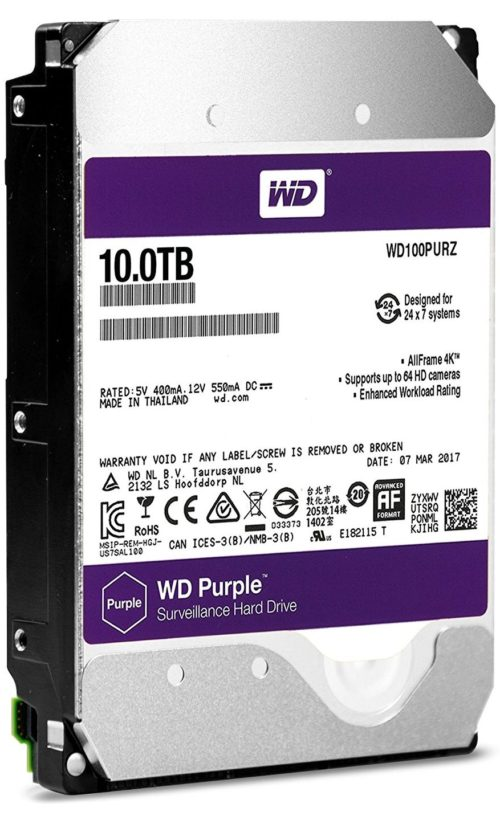 Western Digital Purple vs Seagate Skyhawk