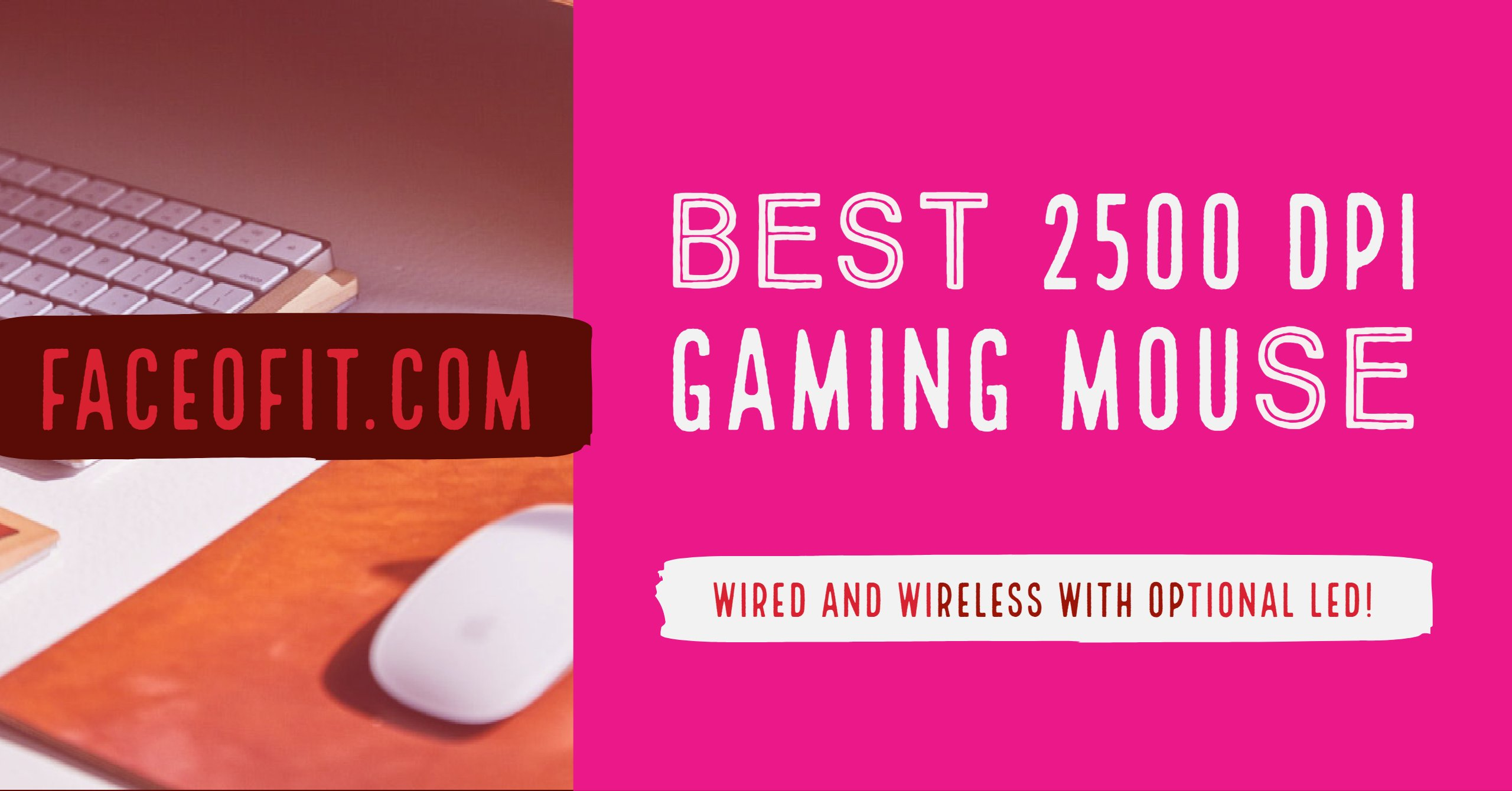 best 2500 dpi gaming mouse wired and wireless with optional led. Black Bedroom Furniture Sets. Home Design Ideas