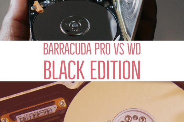 Barracuda Pro vs WD Black Edition
