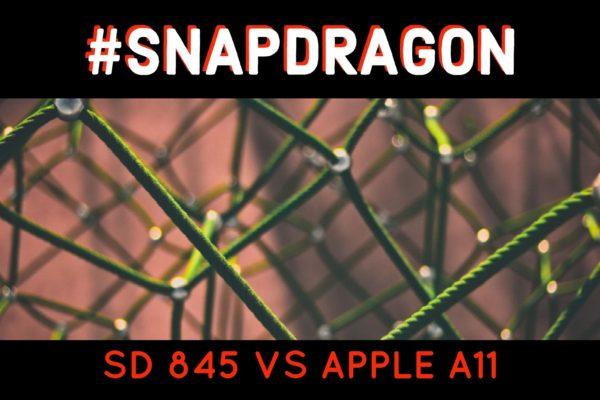 Snapdragon 845 vs A11 Bionic Chip