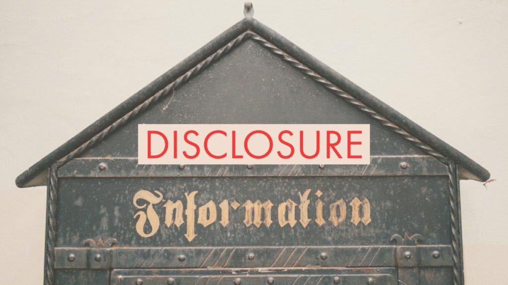 Disclosure FaceofIT
