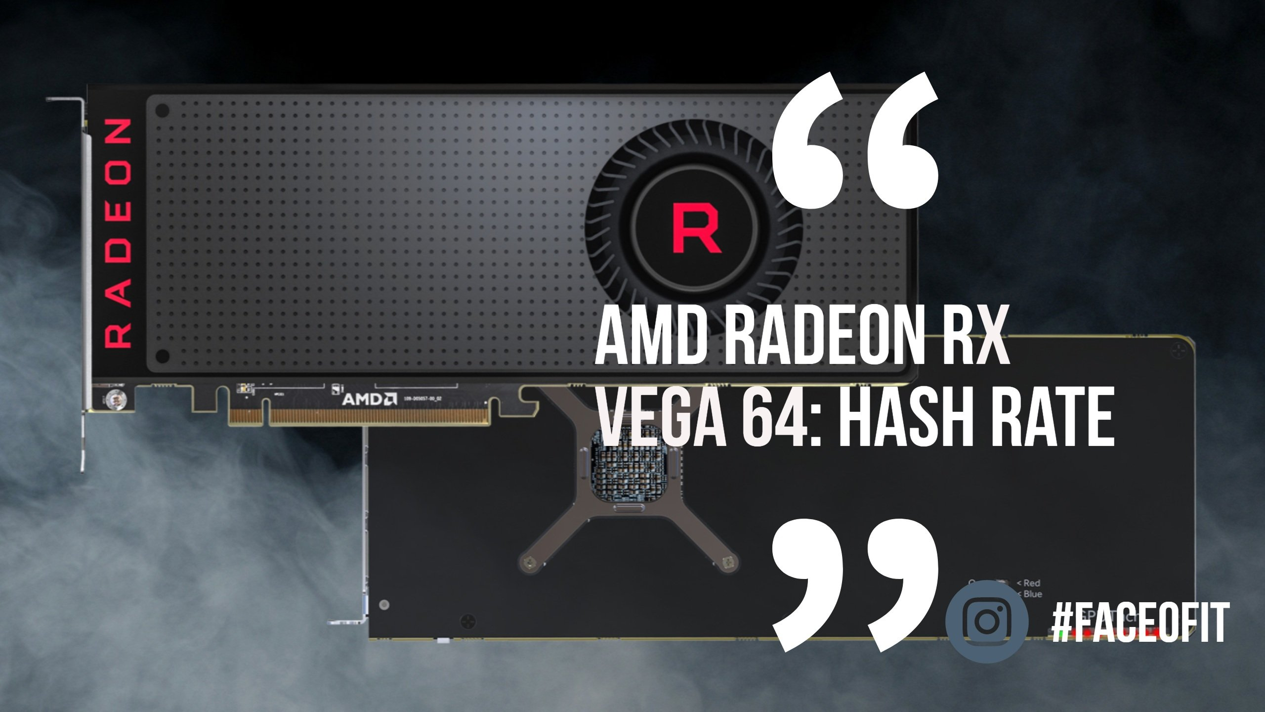 Amd Radeon Vega 56 Vs 64 Mining Hashrate For Cryptocurrency Mining