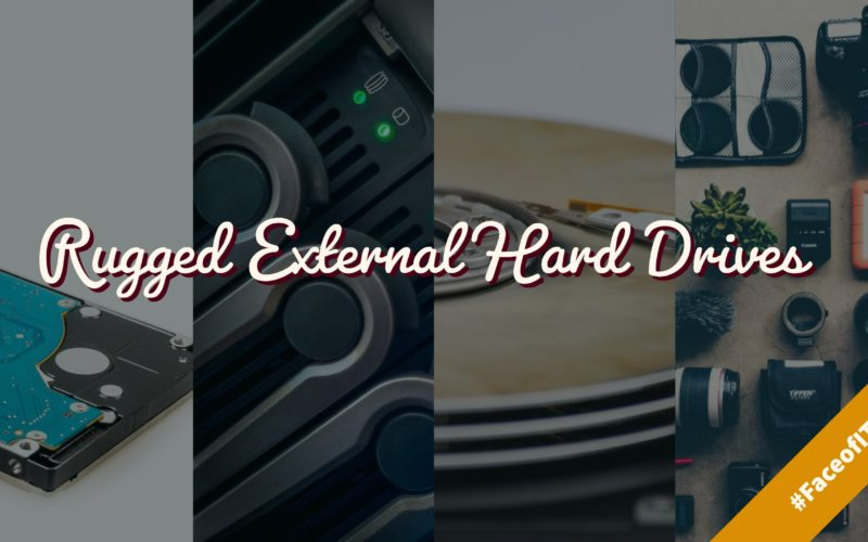 Shockproof Rugged External Hard Drives