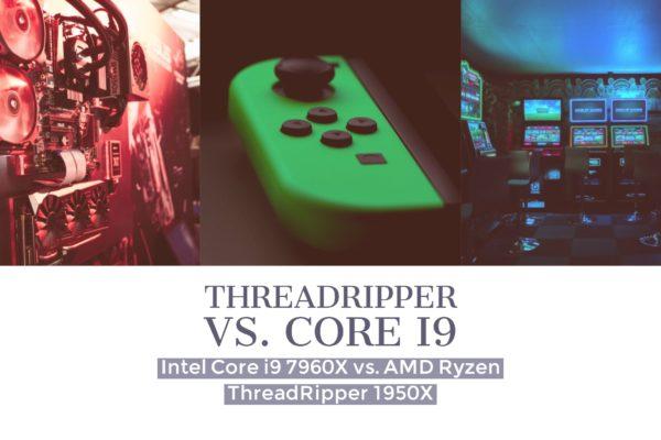 Intel Core i9 7960X vs. AMD Ryzen ThreadRipper 1950X