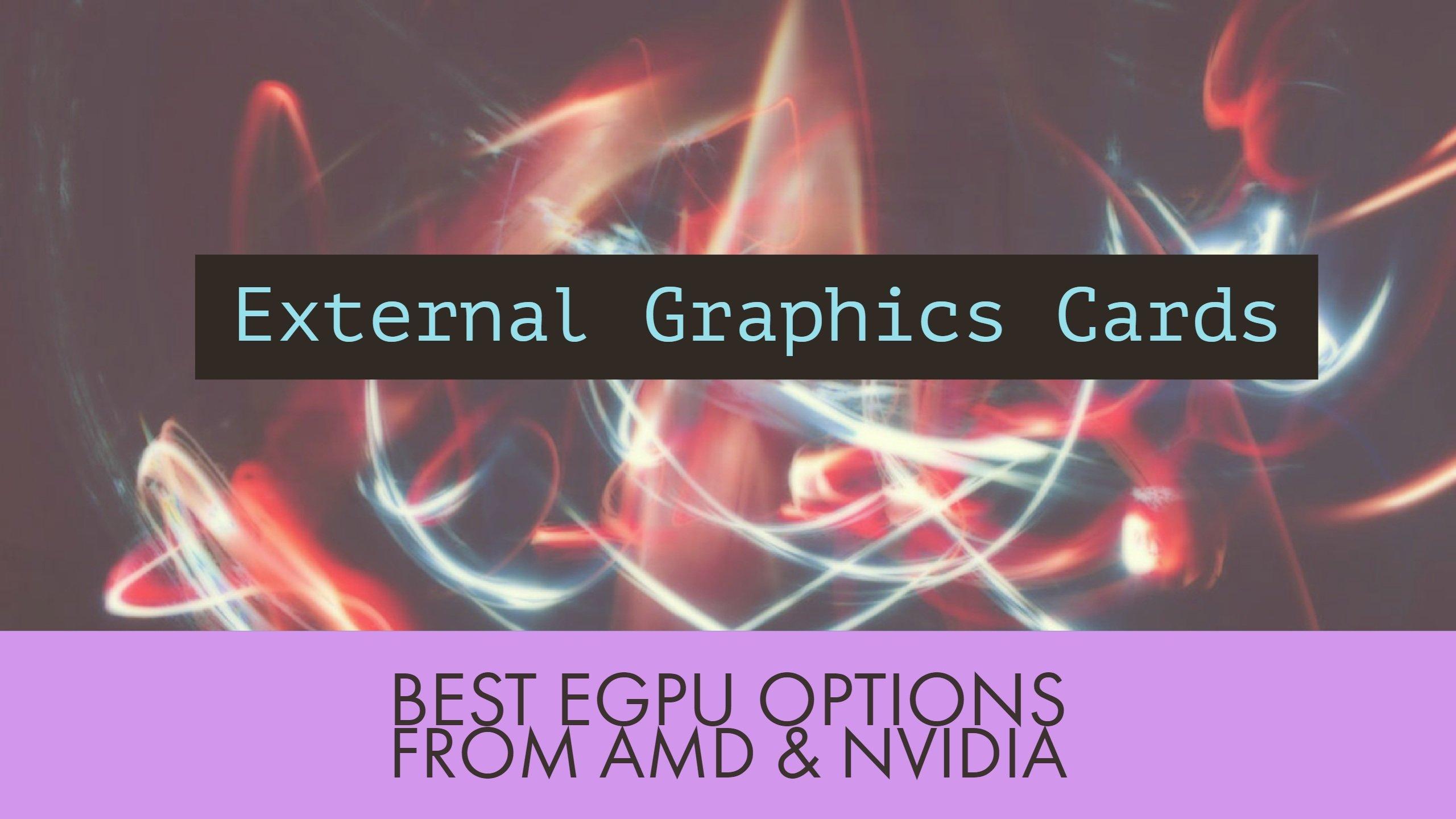 External Graphics Card Dock