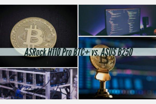 ASRock H110 Pro BTC+ vs. ASUS B250