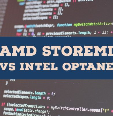 AMD StoreMI vs Intel Optane