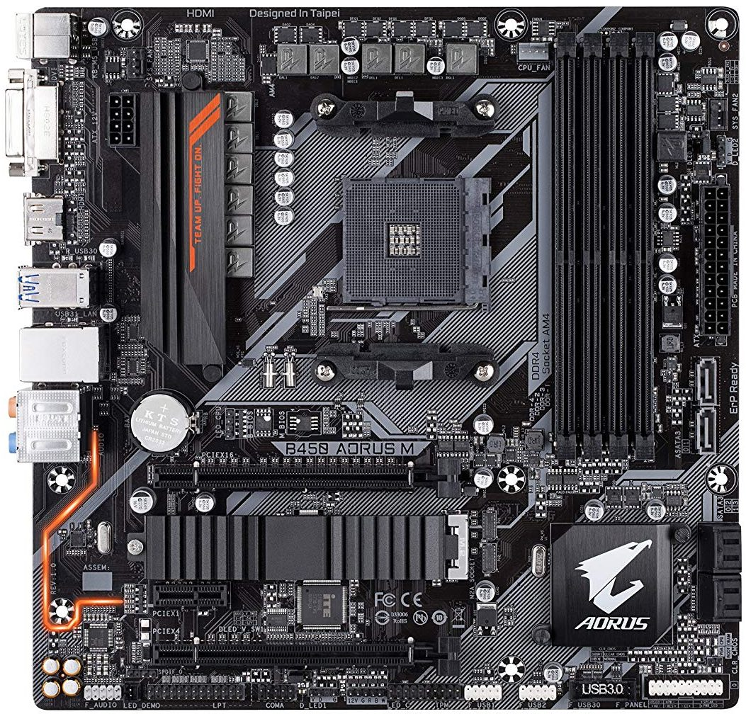 Best Budget B450 Motherboard for Ryzen 2 Series 2700x 2600x 2500x