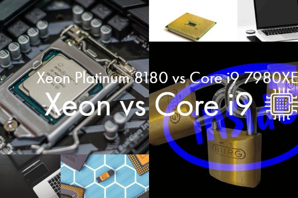 Intel Xeon Platinum 8180 vs Intel Core i9 7980XE