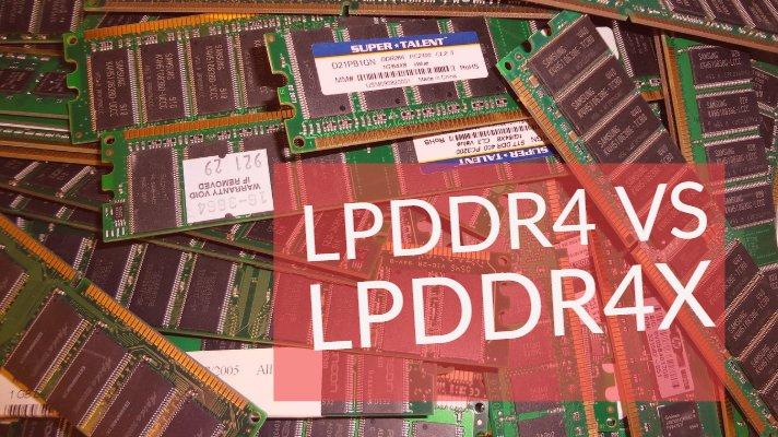 LPDDR4 vs LPDDR4X