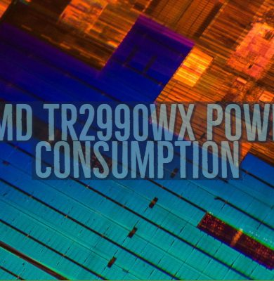 AMD TR2990WX Power Consumption