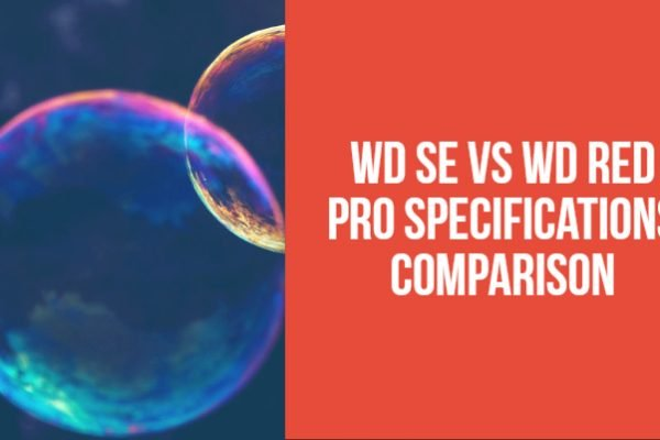 WD SE vs WD Red Pro Specifications Comparison