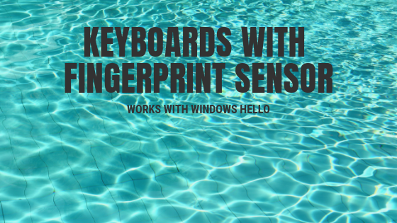 Keyboards with Fingerprint Sensor