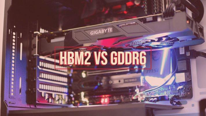 HBM2 vs GDDR6