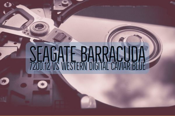 Seagate Barracuda 7200.12 vs Western Digital Caviar Blue