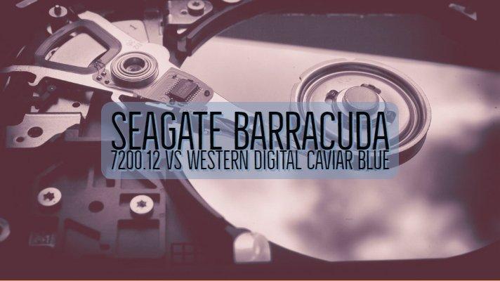 Seagate Barracuda 7200.12 vs Western Digital Caviar Blue