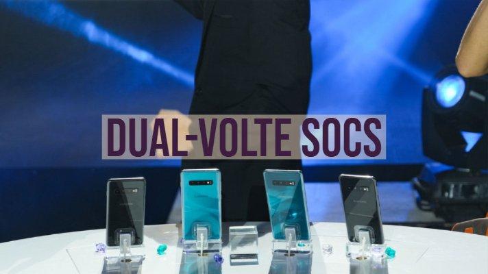 Dual-VoLTE SOCs