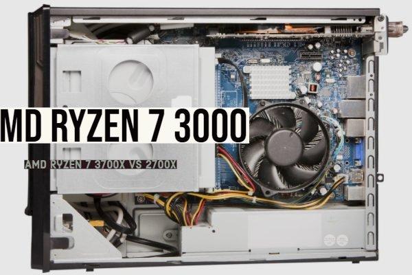 AMD Ryzen 7 3700X vs 2700X Specifications Comparison (Ryzen 2 3000)
