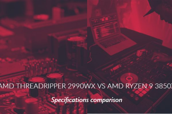 AMD Threadripper 2990wx vs AMD Ryzen 9 3850X Specs Comparison