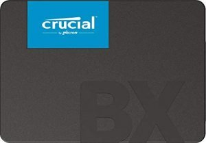 Crucial BX500 vs MX500 vs Kingston A400 Specifications
