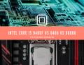 Intel Core i5 9400f vs 8400 vs 9600k Specifications Comparison & features
