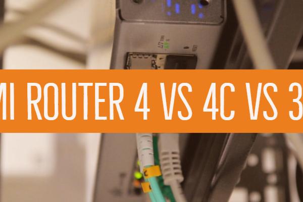 Mi Router 4 Vs 4c Vs 3c