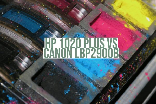HP 1020 Plus vs Canon LBP2900b
