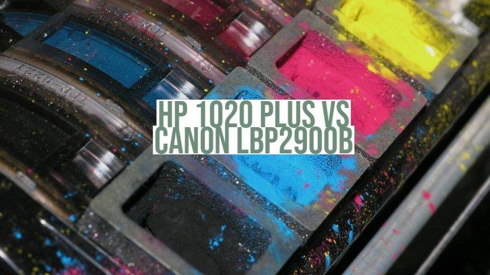 HP 1020 Plus vs Canon LBP2900b