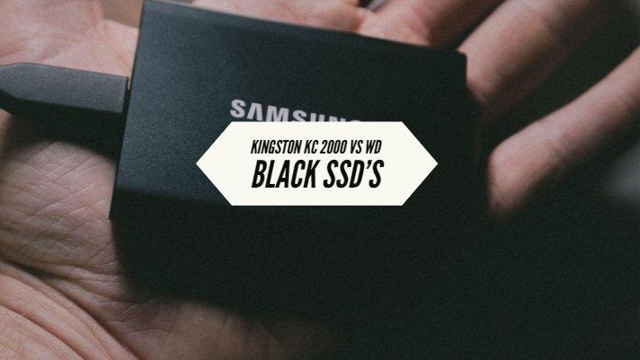 Kingston KC 2000 vs WD Black SSD Specifications Comparison