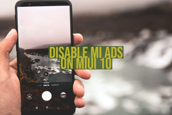 Disable Mi Ads on MIUI 10