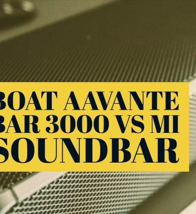 Boat Aavante Bar 3000 vs Mi