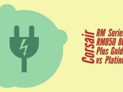 Corsair RM850 vs HX850