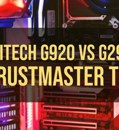 Logitech G920 vs G29 vs Thrustmaster TMX