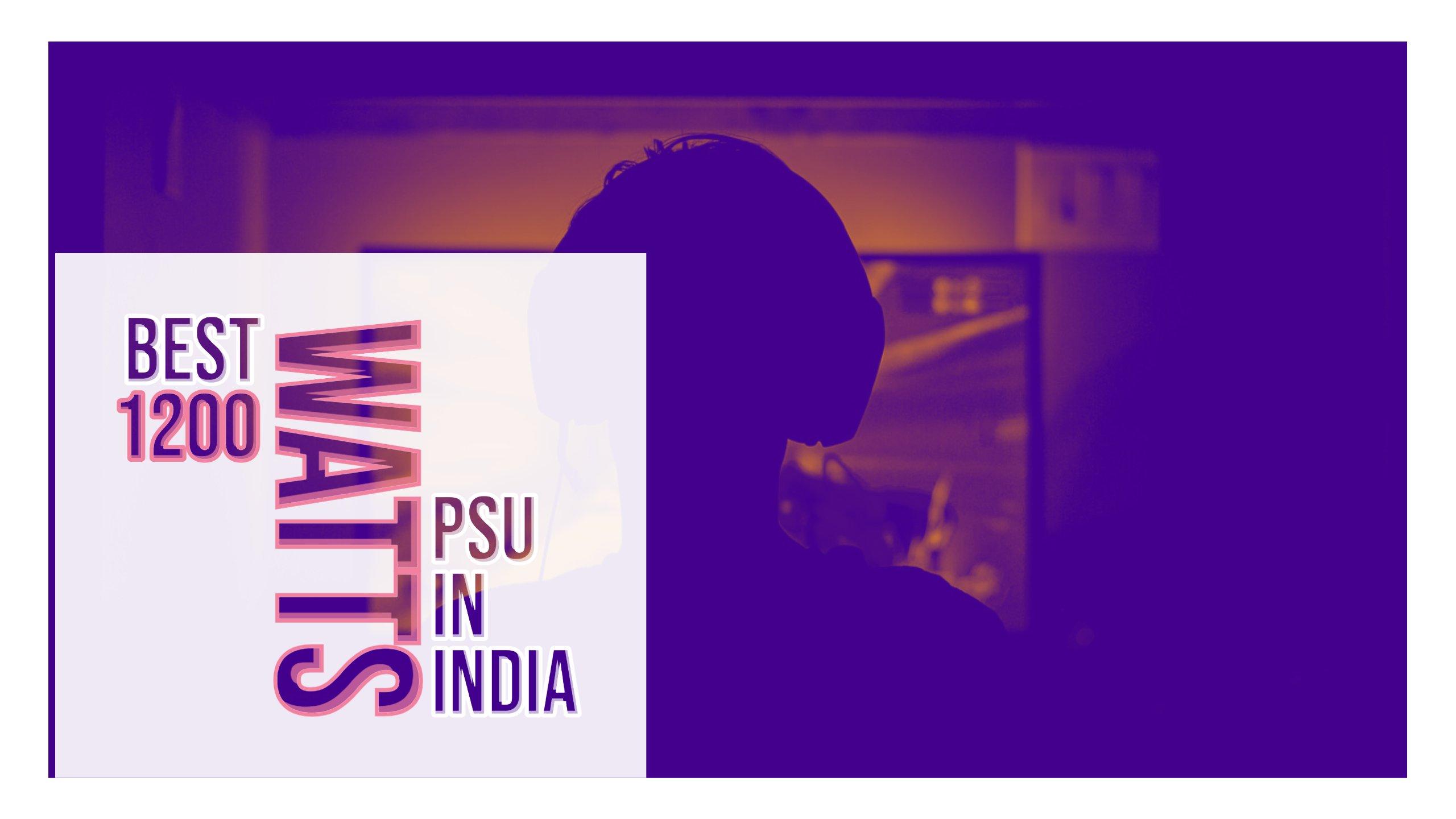 Best 1200 Watts PSU in India