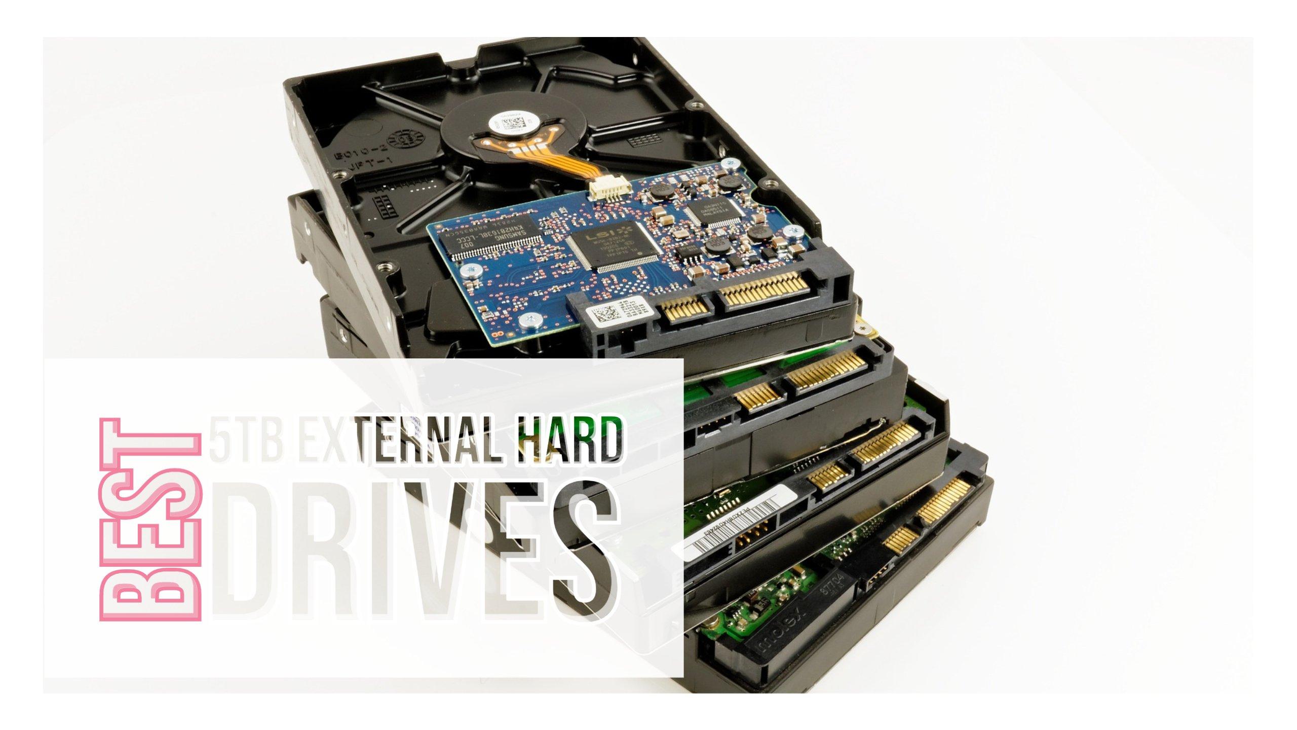 Best 5TB External Hard drives