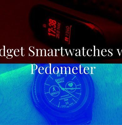 Budget Smartwatches with Pedometer