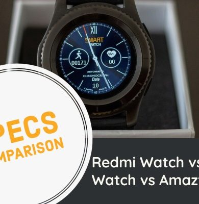 Redmi Watch vs Realme Watch vs Amazfit Bip U