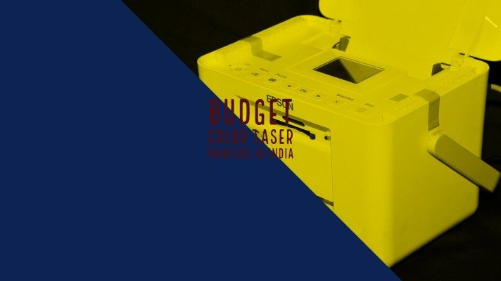 Budget Color Laser Printers in India