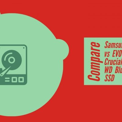 Compare Samsung 860 QVO vs EVO vs Crucial MX500 vs WD Blue SATA SSD
